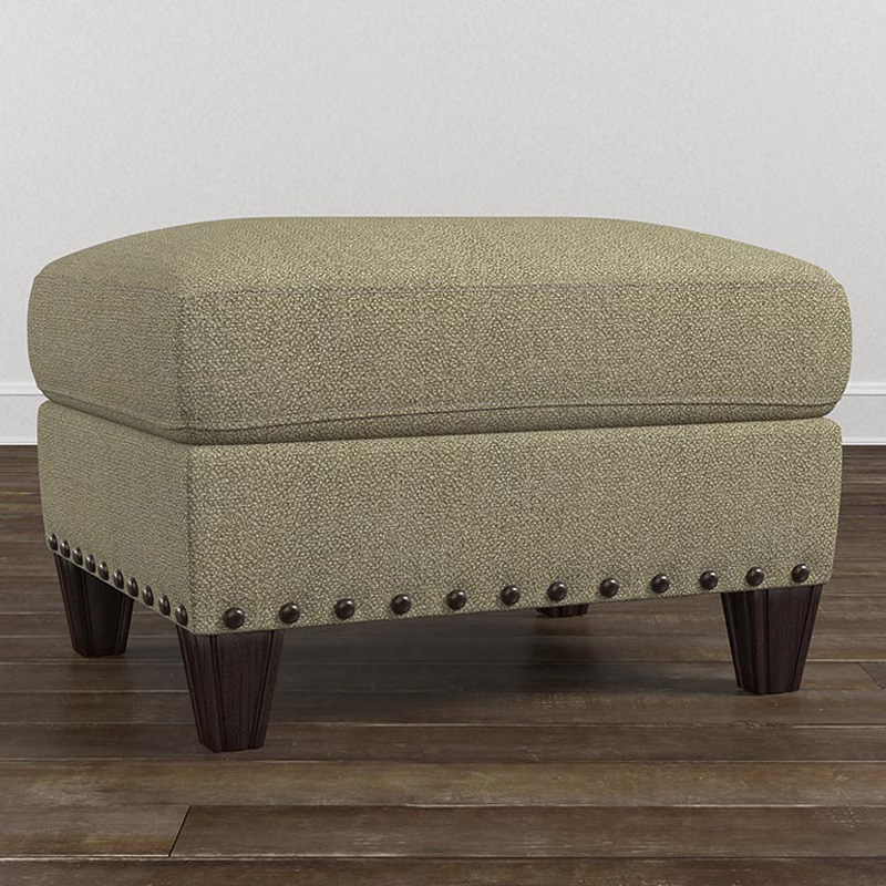 Bassett 2638 01 Wyatt Ottoman Discount Furniture At