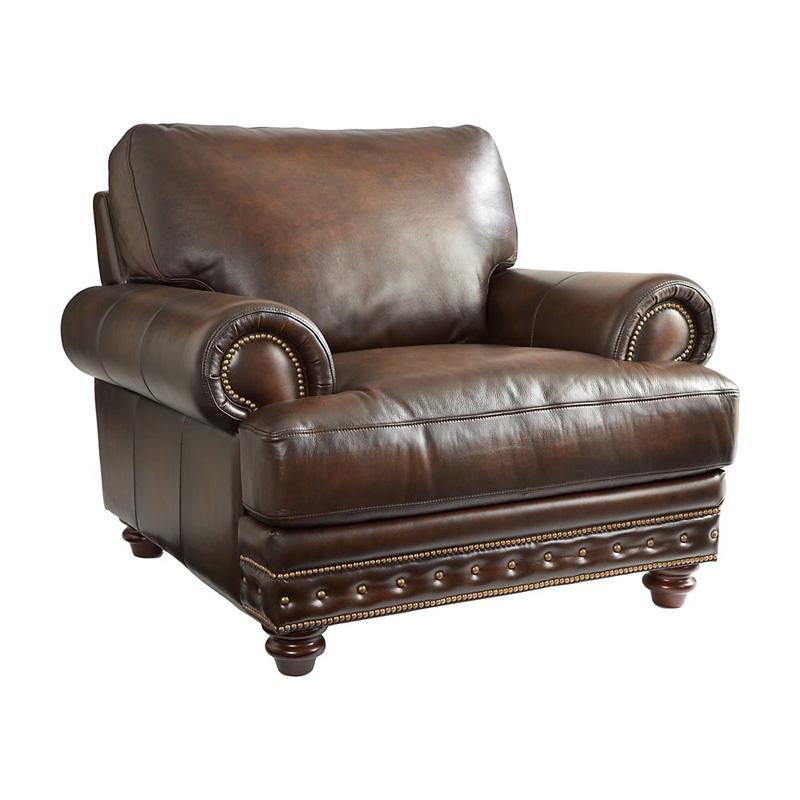 Bassett 3786 12LS Callahan Chair Discount Furniture at