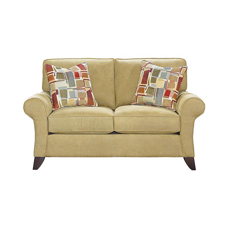 Bassett 3972 42 Tyson Loveseat Discount Furniture At