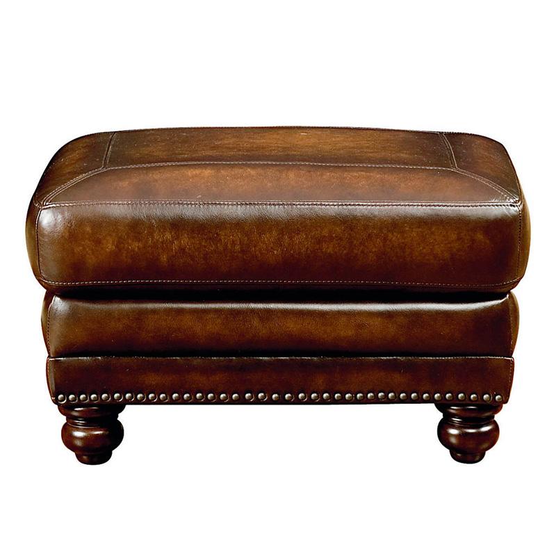 Bassett 3959 01ls Hamilton Ottoman Discount Furniture At