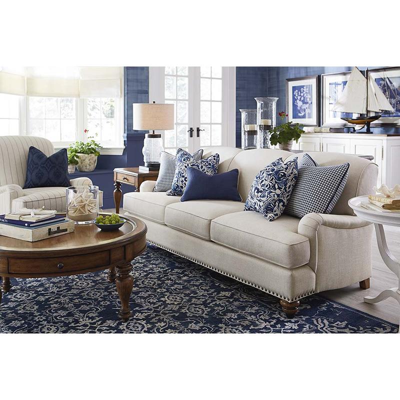 Bassett 2622-62 Essex Sofa Discount Furniture At Hickory
