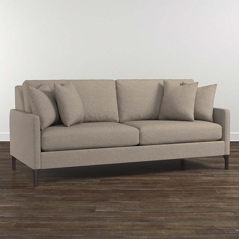Bassett 2658-62 Modern Sofa Discount Furniture At Hickory