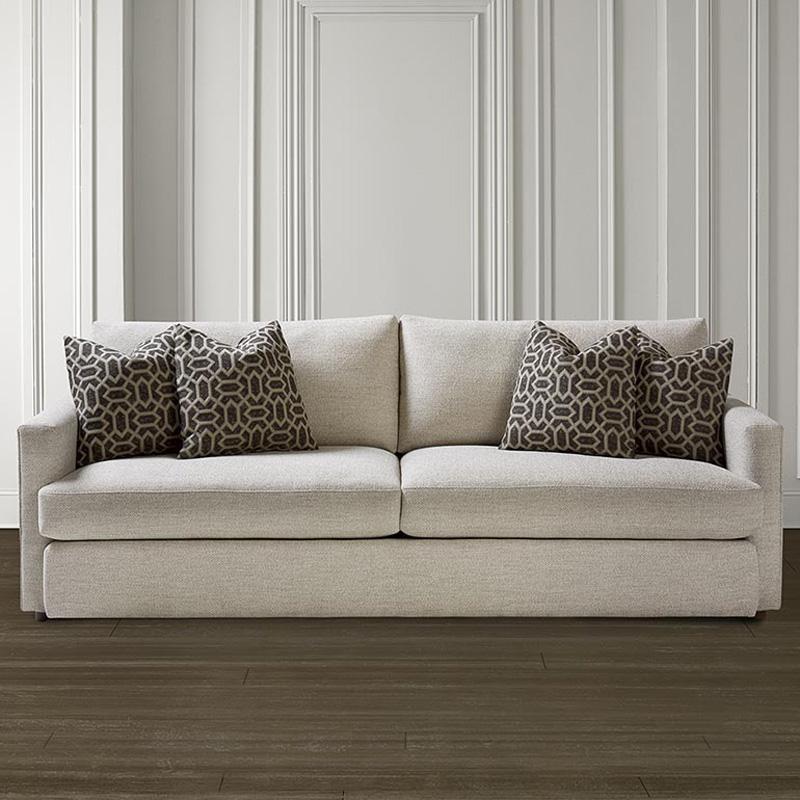 Bassett 2611 62 Allure Sofa Discount Furniture At Hickory