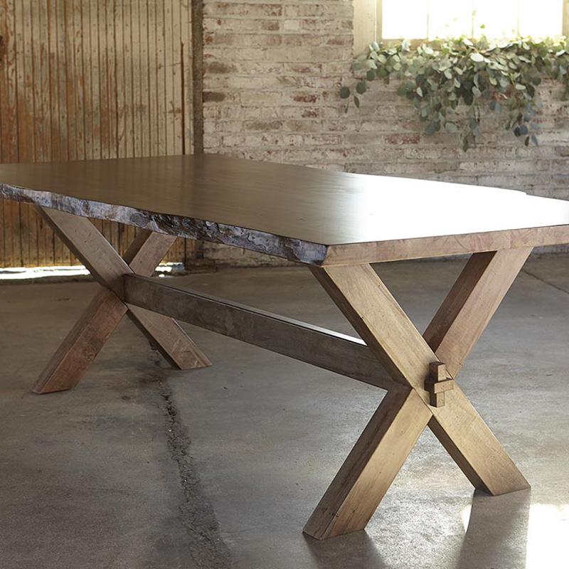 Bassett 4015 9042le Bench Made 90 Inch Rectangular Table
