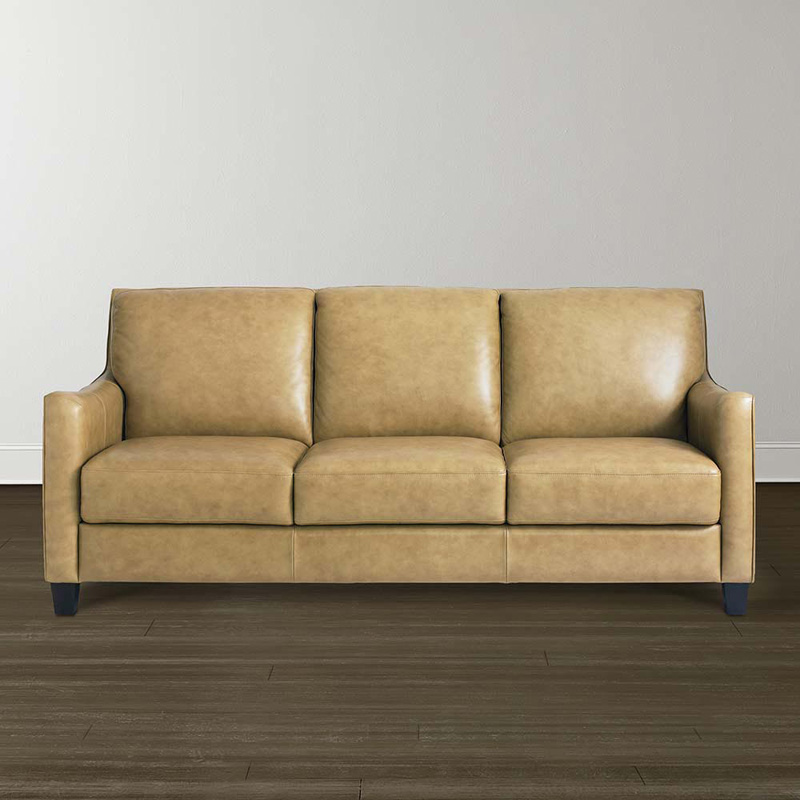 Bassett 3960 62ls Bennet Sofa Discount Furniture At Hickory Park Furniture Galleries