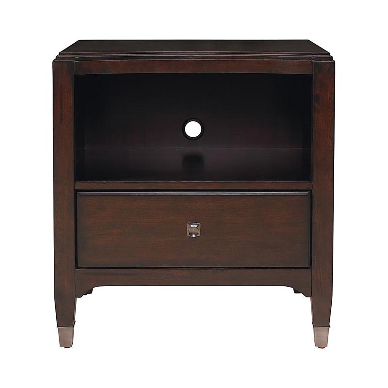 Bassett 2767 0270 cosmopolitan nightstand discount for Affordable nightstands