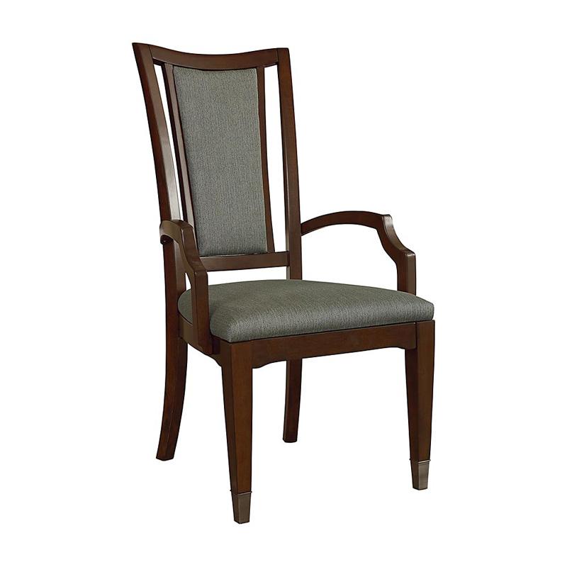 Bassett 4767 1452 Cosmopolitan Upholstered Back Arm Chair