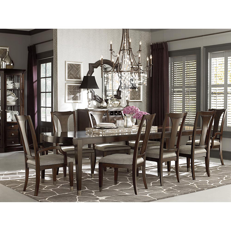 Bassett 4767 4278 Cosmopolitan Rectangular Dining Table  : bassett080120124767 4278A from www.hickorypark.com size 800 x 800 jpeg 241kB