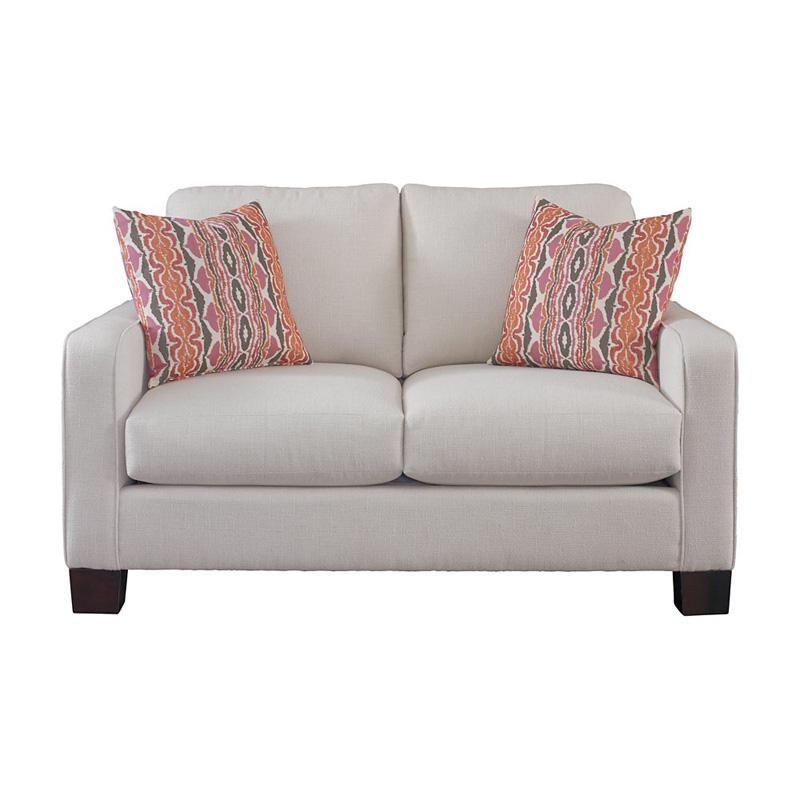 Bassett 2021 42 Desmond Loveseat Discount Furniture at