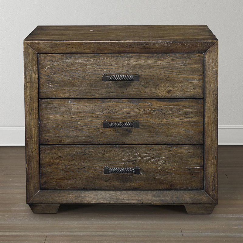 Compass Furniture: Bassett 2525-0271 Compass Nightstand Discount Furniture At
