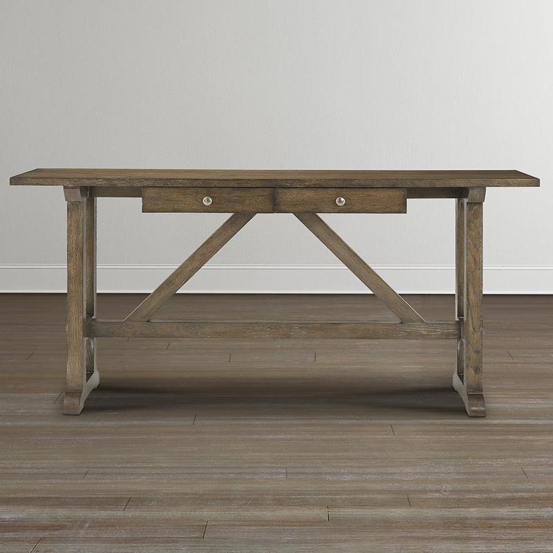 Bassett 6525 0698 Compass Console Table Discount Furniture