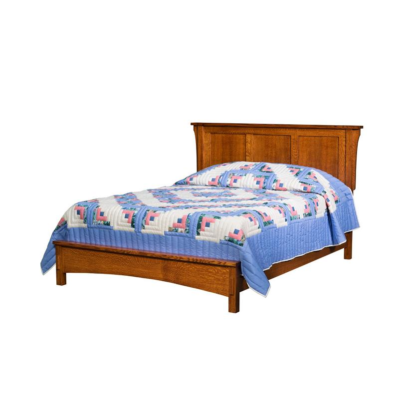 Bungalow Furniture Store: Borkholder 13-1502CLF Bungalow Panel Bed With Low