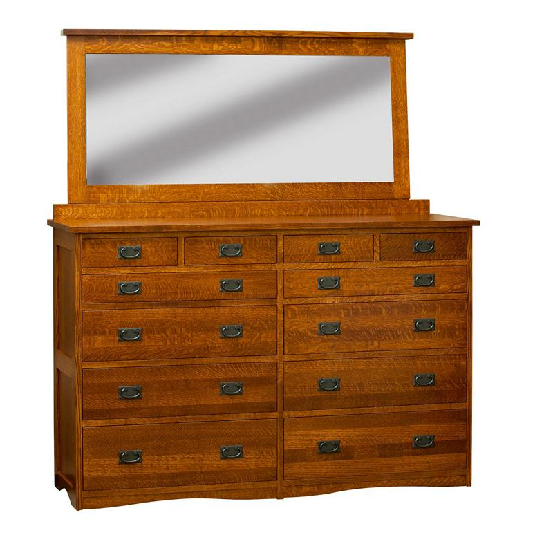 Bungalow Furniture Store: Borkholder 13-1803XXX Bungalow Mule Chest And Mirror