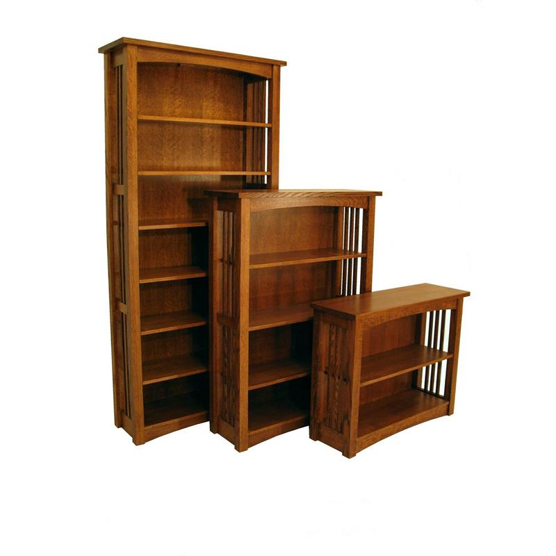Bungalow Furniture Store: Borkholder 13-2901XXX Bungalow Bookcase Discount Furniture