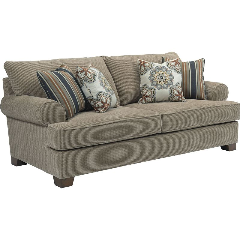 Broyhill 4240 Slpr Serenity Sofa Sleeper Queen Discount Furniture At Hickory Park Furniture