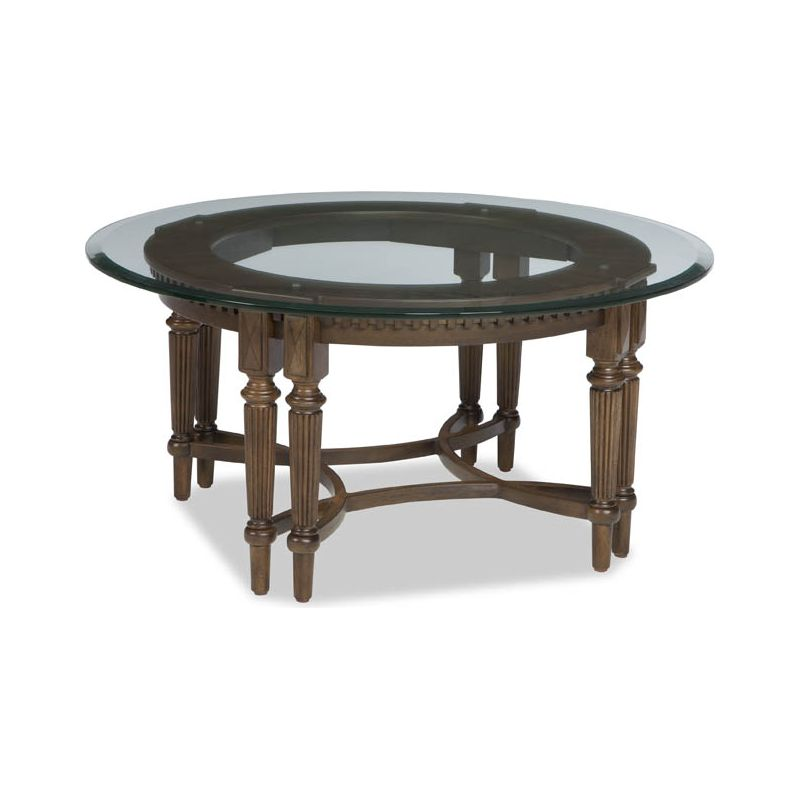 Round cocktail table 99 sale at hickory park furniture for Round table 99