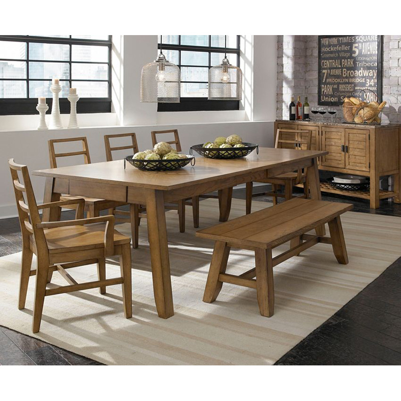 broyhill 4333 532 ember grove leg dining table discount