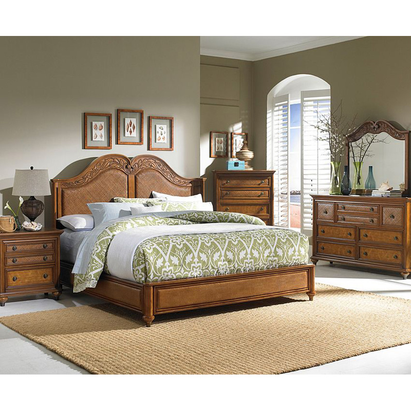 Broyhill 4702 251 samana cove panel bed discount furniture at hickory park furniture galleries for Broyhill bedroom furniture discontinued