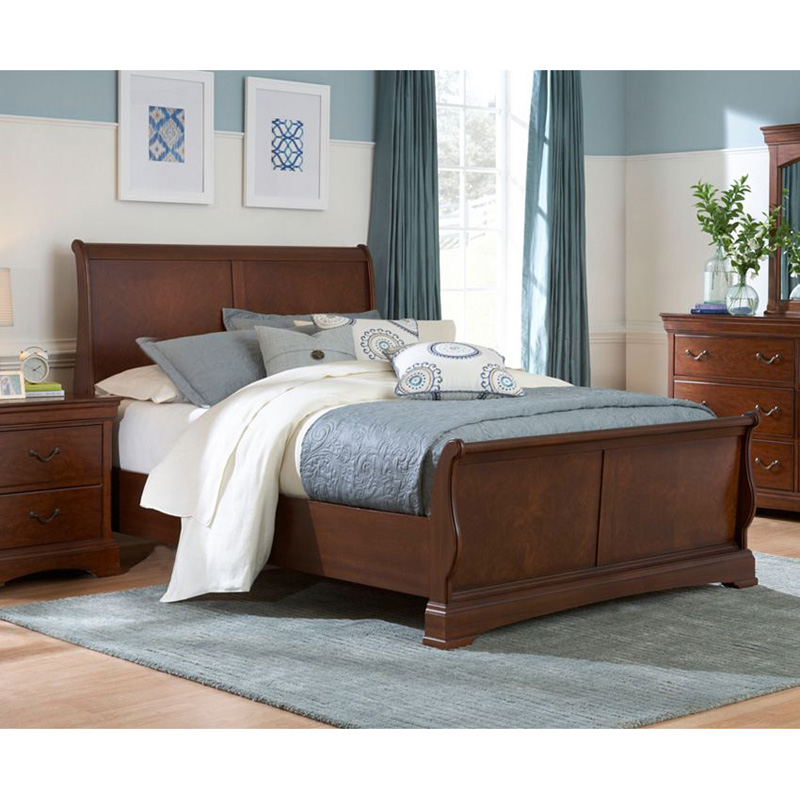 Broyhill Sleigh Bed Rhone Manor Sale Bedroom Hickory Park Furniture Galleries