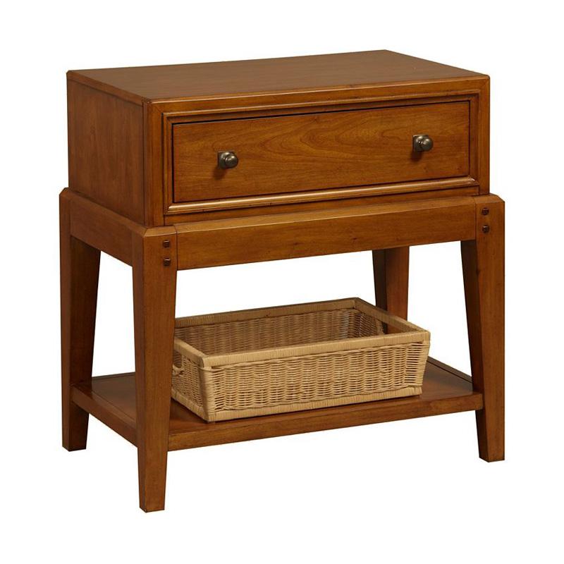 Broyhill Leg Nightstand Laurel Hills Sale BEDROOM Hickory Park Furniture Galleries