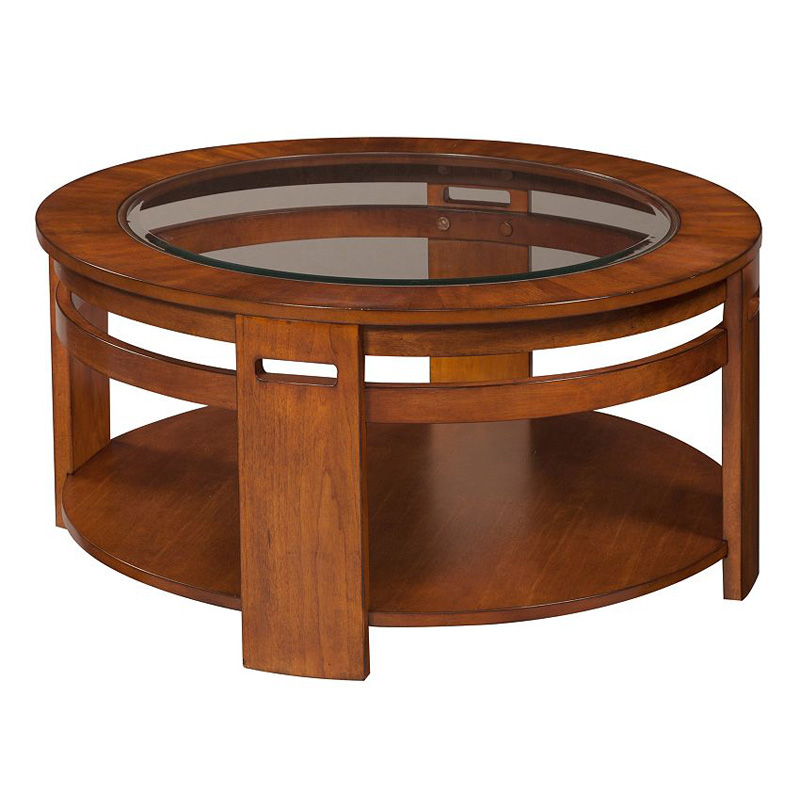 Broyhill 3799 003 Nelliston Round Cocktail Table Discount Furniture At Hickory Park Furniture