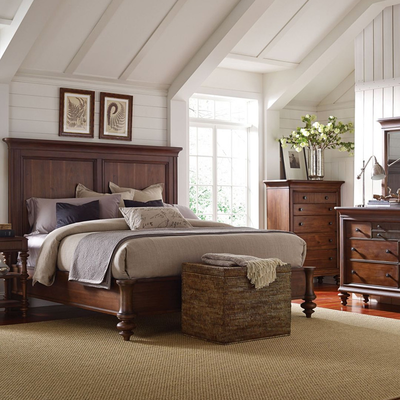 Seamans Furniture Store: Broyhill 4940-450 Cascade Bolt On Side Rails Queen King