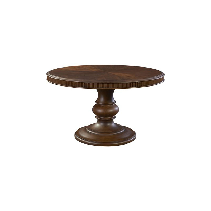 Broyhill Round Dining Table: Broyhill 4940-550 Cascade Round Dining Table Discount