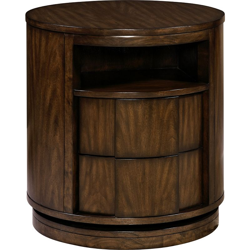 Broyhill 4302 290 sabra swivel nightstand discount for Affordable furniture 290