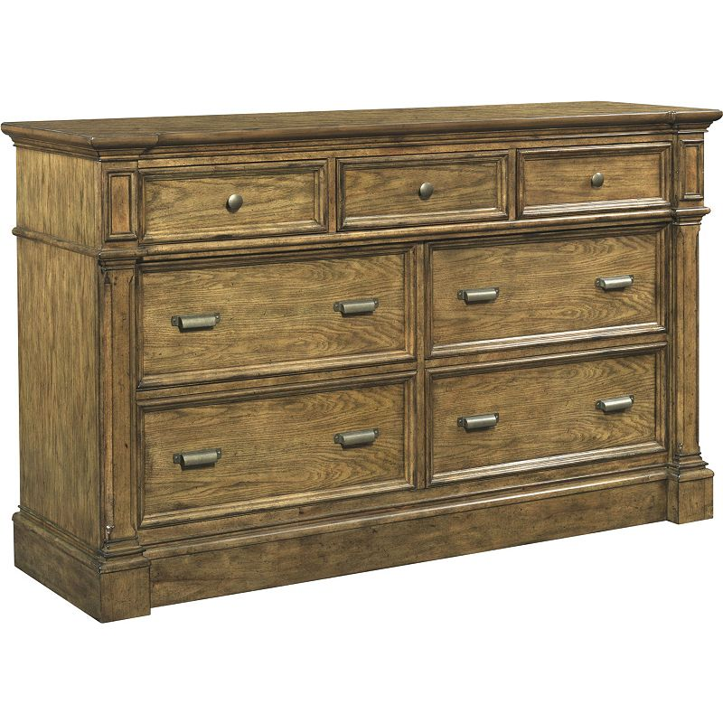 Broyhill 4808 230 new vintage 7 drawer dresser discount furniture at hickory park furniture Broyhill master bedroom sets