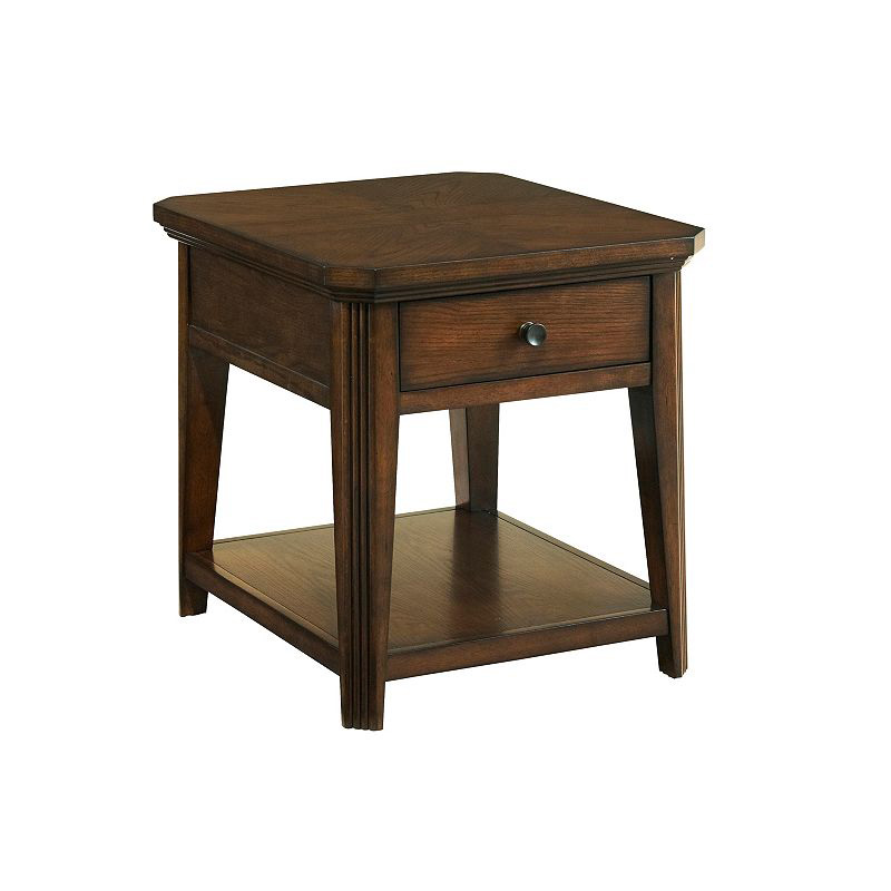 Broyhill 4364 002 Estes Park Drawer End Table Discount Furniture At Hickory Park Furniture Galleries