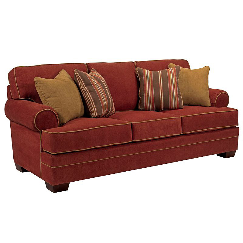 Broyhill 6608 3 Landon Sofa Discount Furniture At Hickory Park Furniture Galleries
