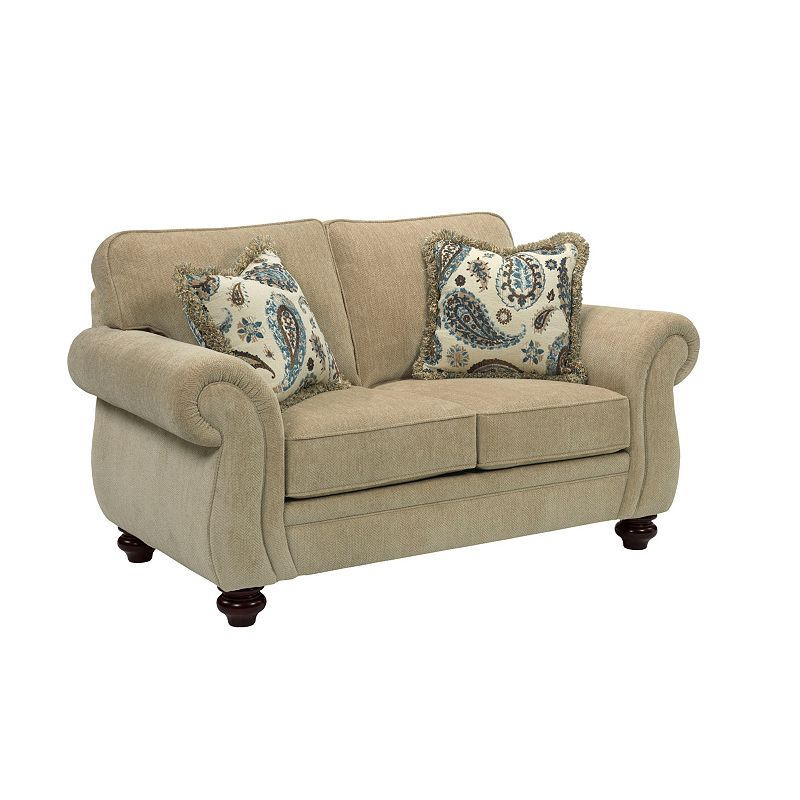 Broyhill 3688 1 Cassandra Loveseat Discount Furniture At Hickory Park Furniture Galleries