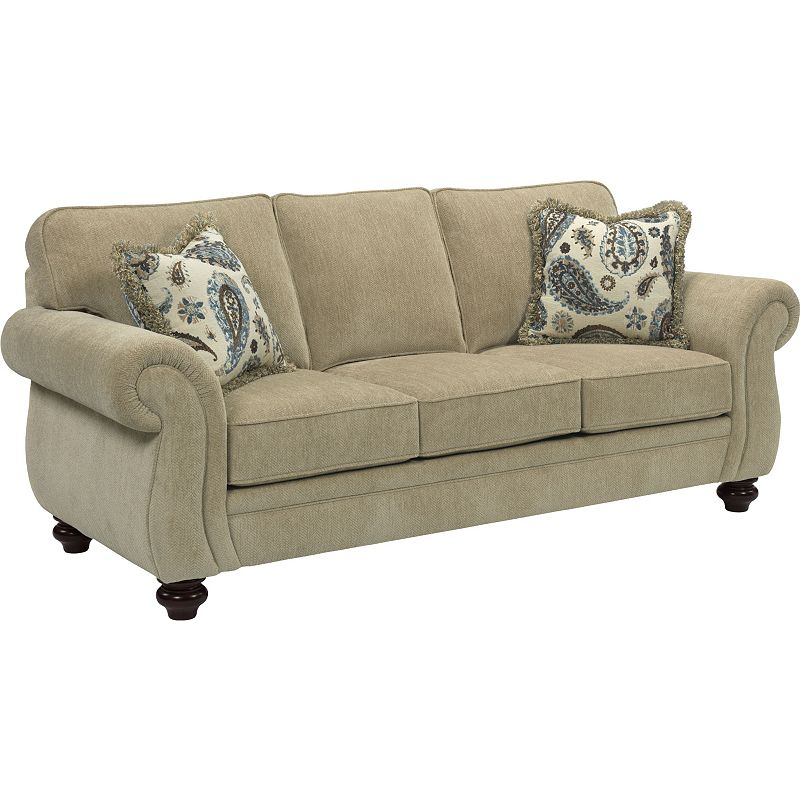 Leather Furniture Outlet North Carolina: Broyhill 3688-3 Cassandra Sofa Discount Furniture At