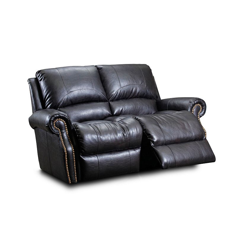 Broyhill L254 49 Geneva Leather Or Performance Leather Reclining Loveseat Power Discount