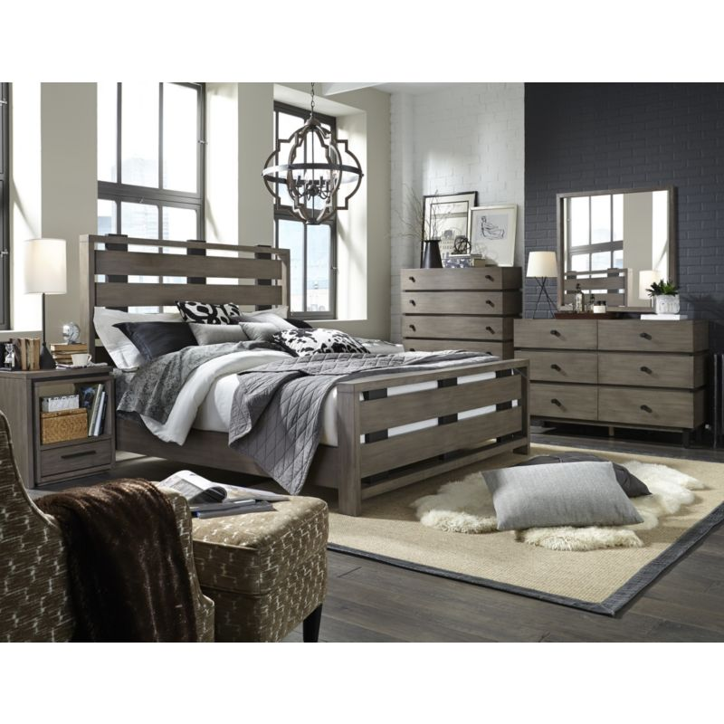 Broyhill 5815 Bed Moreland Ave King Bed Discount Furniture At Hickory Park Furniture Galleries