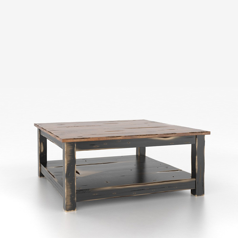 Canadel Csq4242 Hj Champlain Square Coffee Table Discount Furniture At Hickory Park Furniture