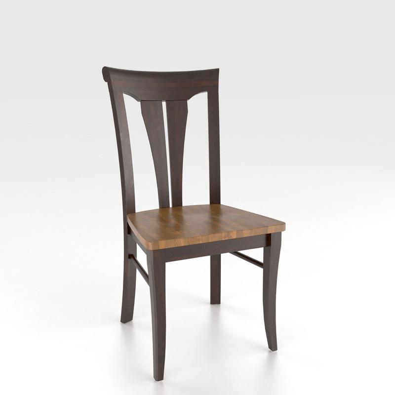 Canadel Cha0391 Custom Dining Transitional Sidechair