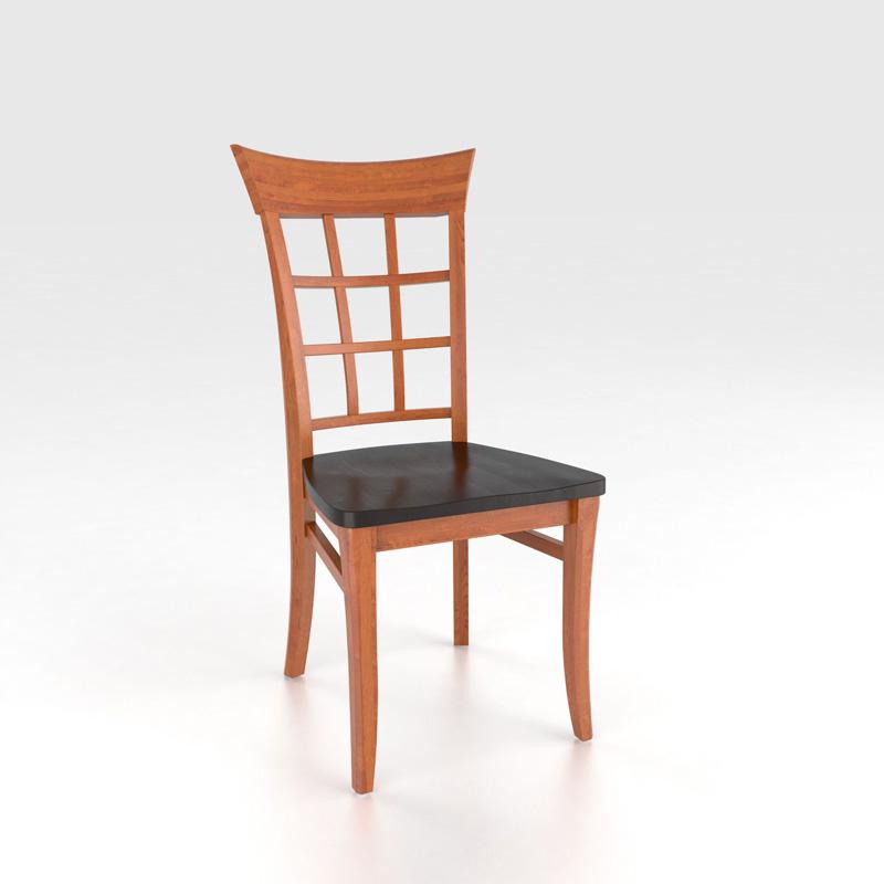 Canadel Cha2276 Custom Dining Transitional Sidechair