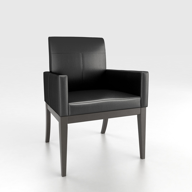 Canadel CHA5016ZD High Style Contemporary Armchair