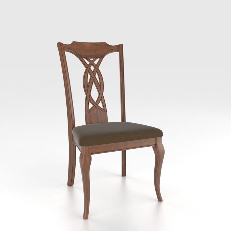 Canadel Cha7102uf Custom Dining Transitional Sidechair