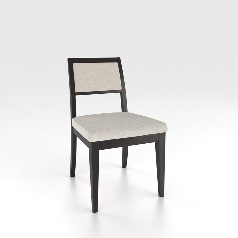 Canadel CHA5037TB Custom Dining Contemporary Sidechair
