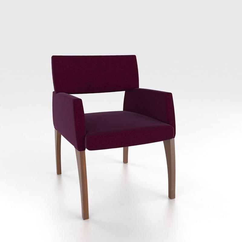 Canadel Cha5040 Custom Dining Contemporary Armchair