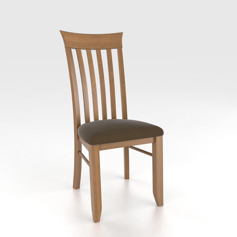 Canadel Cha6144uf Custom Dining Transitional Sidechair