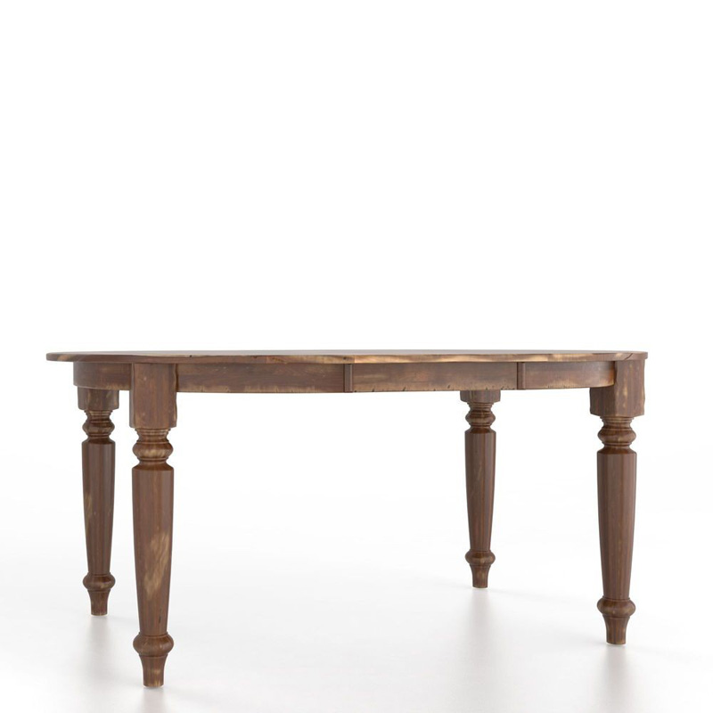 Canadel TOV5474HB F Champlain Farmhouse Oval table with legs Discount Furnitu