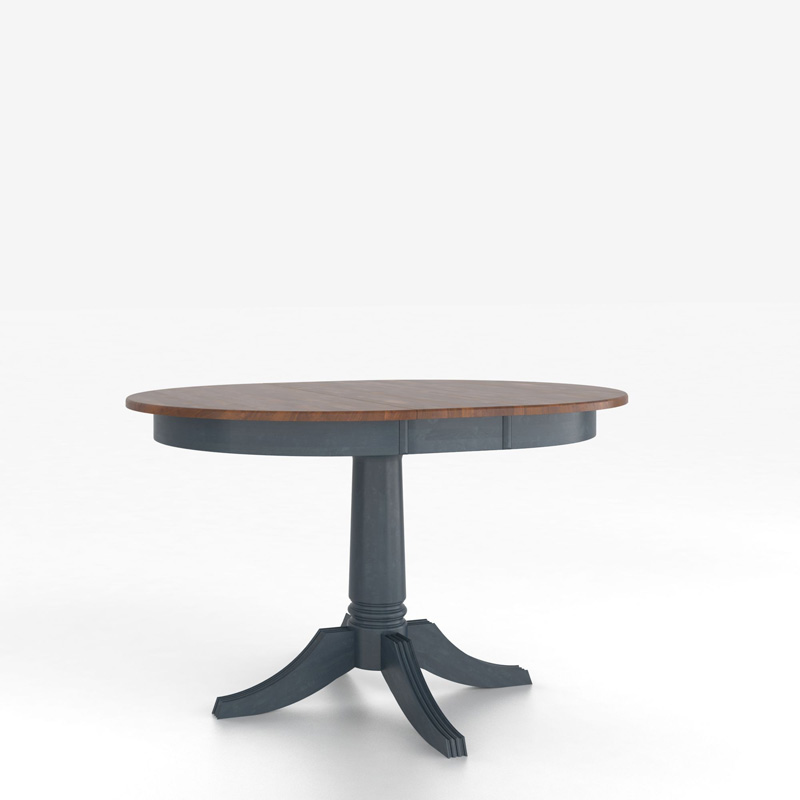 Table With Pedestal Discount Furniture At Hickory Park Furniture