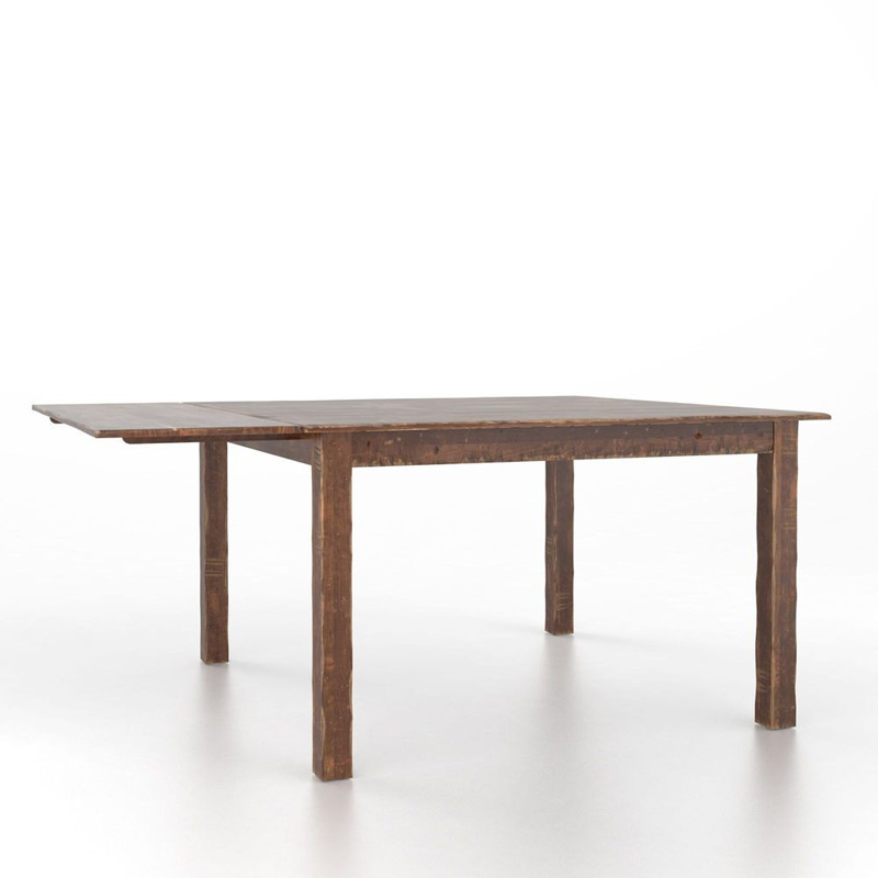 Canadel TSQ6060HG 1 High Dining Farmhouse Square table with legs Discount Fur