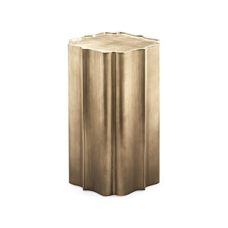 Caracole tra acctab 004 all things small gold is up accent for Small gold side table
