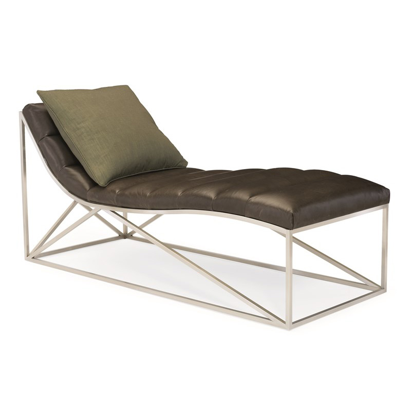Caracole met chaise 01a modern metro band together chaise for Chaise lounge band