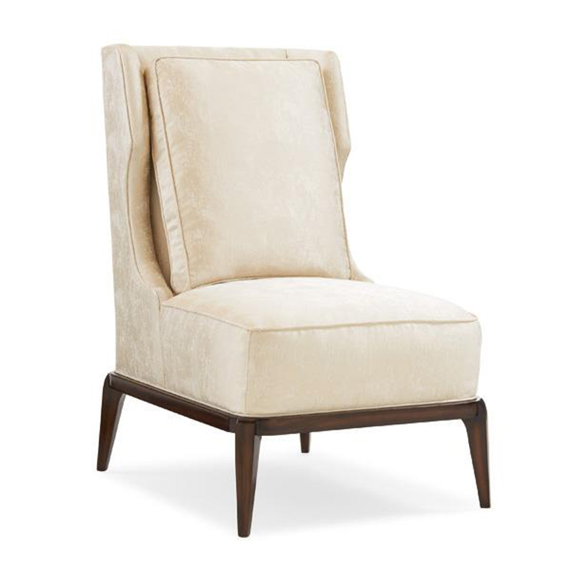 Caracole uph chawoo 82a caracole upholstery accent chair for Affordable furniture upholstery