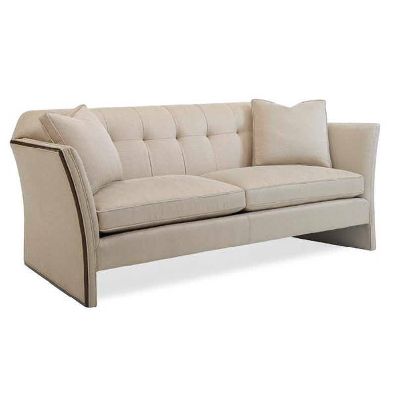 Caracole uph sofwoo 50a caracole upholstery sofa vanishing for Affordable furniture upholstery